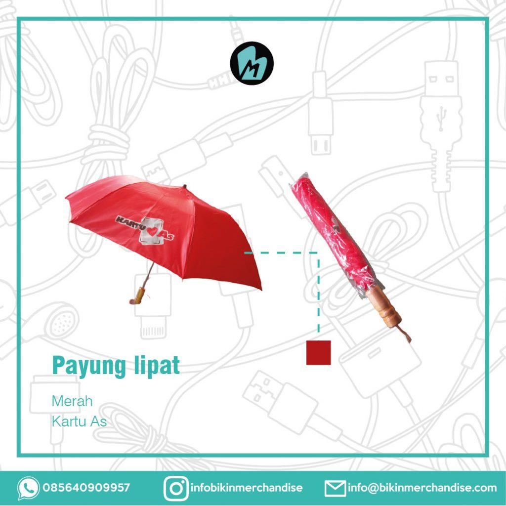 sablon payung lipat