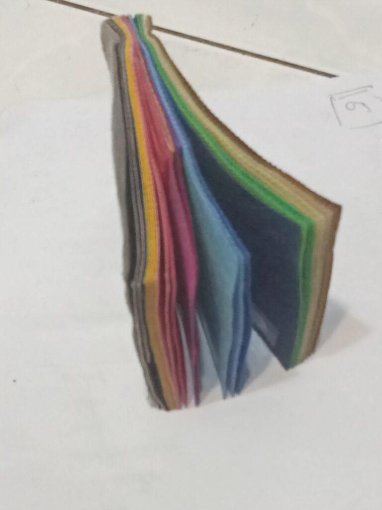 variasi warna spunbond